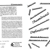 Abolitionist Thumbnail Definitions